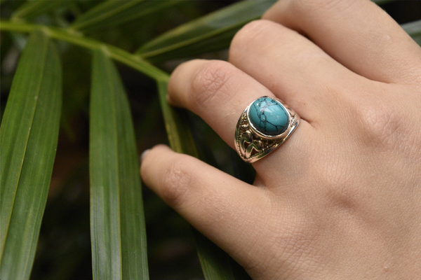 Turquoise Vesta Ring - Jewels & Gems