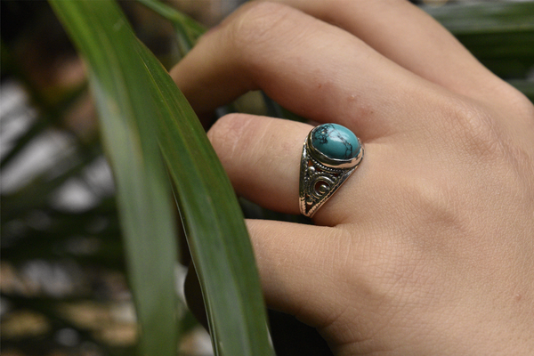 Turquoise Calissia Ring - Jewels & Gems