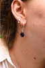 Amethyst Signe Earrings - Jewels & Gems