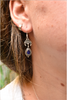 Semi-precious Sapphire Luna Earrings - Jewels & Gems