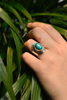 Turquoise Odalis Ring - Jewels & Gems
