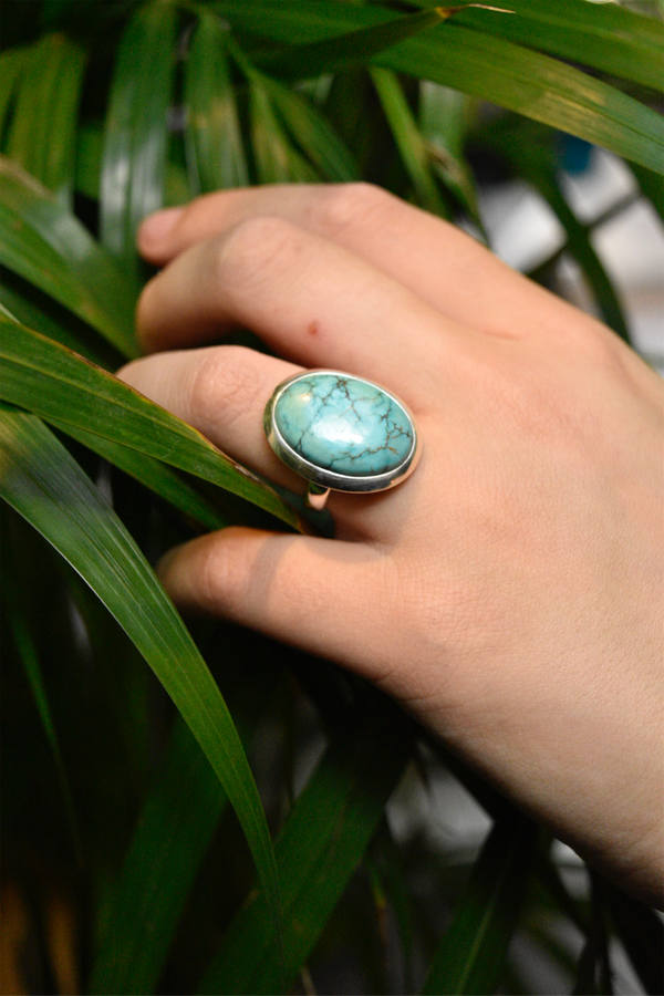 Turquoise Ariel Ring - Jewels & Gems