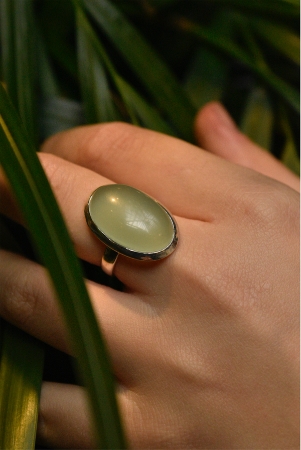 Chalcedony Ariel Ring - Jewels & Gems