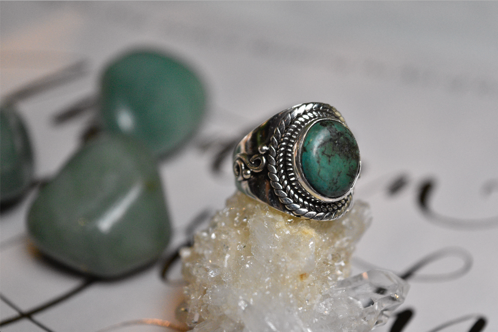 Turquoise Makani Ring - Jewels & Gems