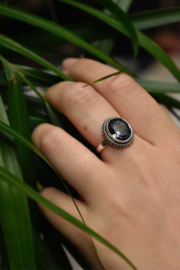Mystic Topaz Rhea Ring - Jewels & Gems