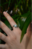 Larimar Lili Ring - Jewels & Gems