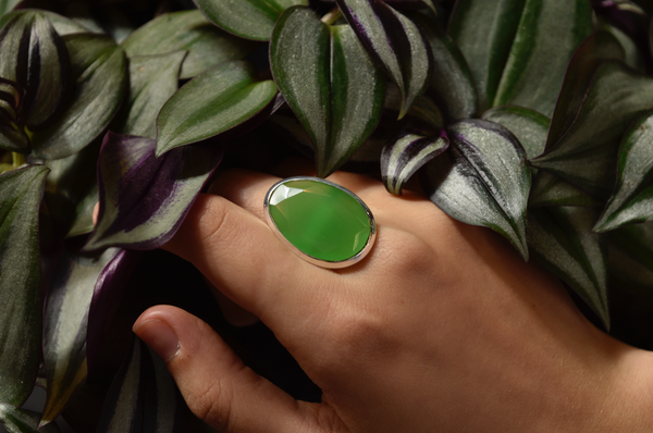 Green Chalcedony Adora Ring - Jewels & Gems