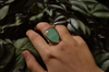 Pale Green Chalcedony Adora Ring - Jewels & Gems