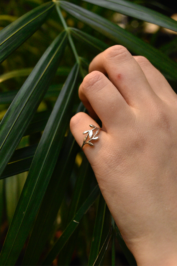 sterling silver minimal ring