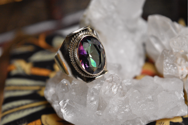 Mystic Topaz Odalis Ring - Jewels & Gems
