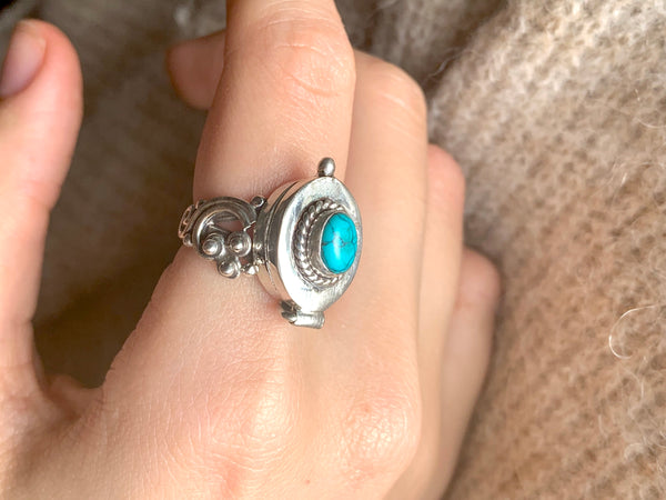 Turquoise Poison Ring (Limited Edition) - Jewels & Gems