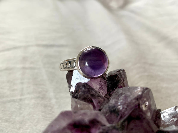 Amethyst / Lapis Lazuli / Malachite Eseld Ring - Jewels & Gems