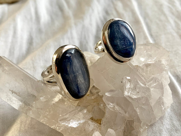 Kyanite Ari Mixed Rings (One of a kind) - Jewels & Gems