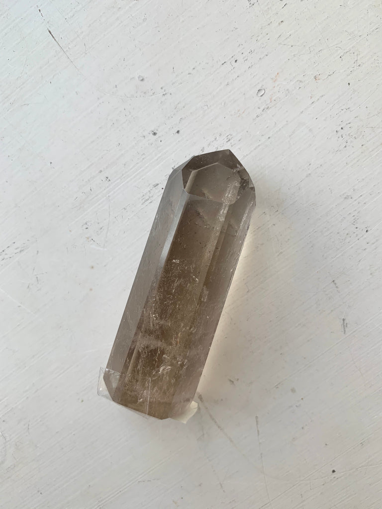 Smokey Quartz Polished Point - Jewels & Gems