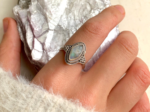 Moonstone Cassia Ring - Jewels & Gems