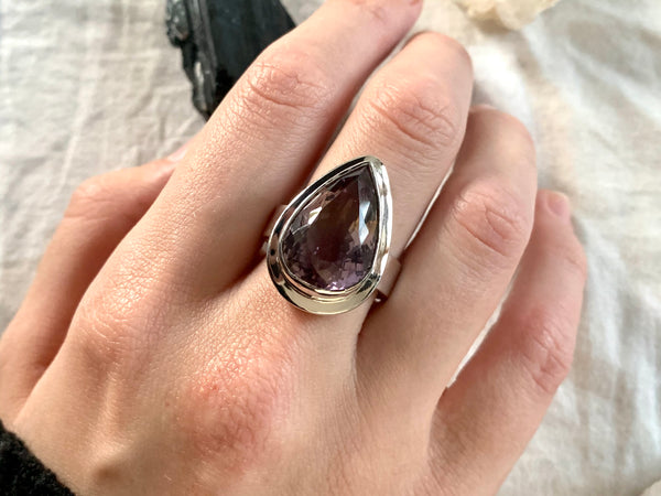 Ametrine Ansley Ring - Large Teardrop (US 9.5) - Jewels & Gems