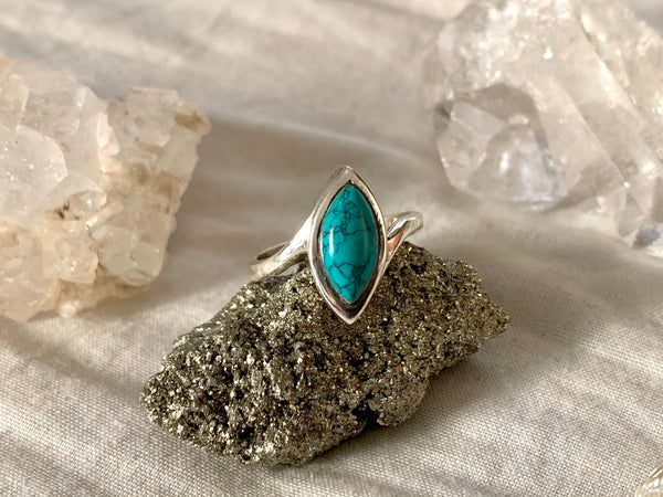 Turquoise Meira Ring - Jewels & Gems