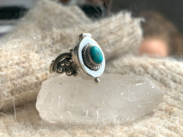 Turquoise Poison Ring (Limited Edition)