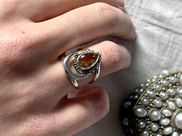 Citrine Seraphina Ring - Jewels & Gems