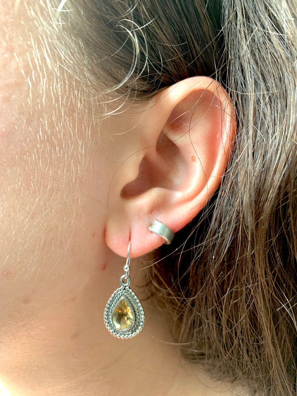 Citrine Xenia Earrings - Jewels & Gems
