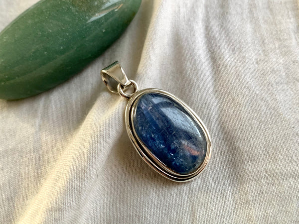 Kyanite Brea Pendant - Freeform B - Jewels & Gems
