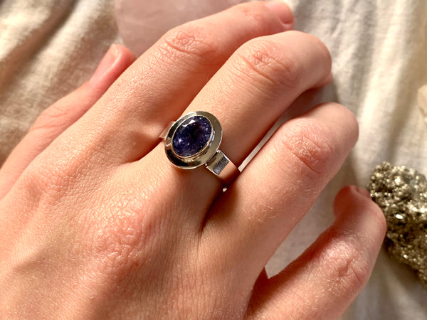 Tanzanite Ansley Ring - Small / Medium Oval - Jewels & Gems
