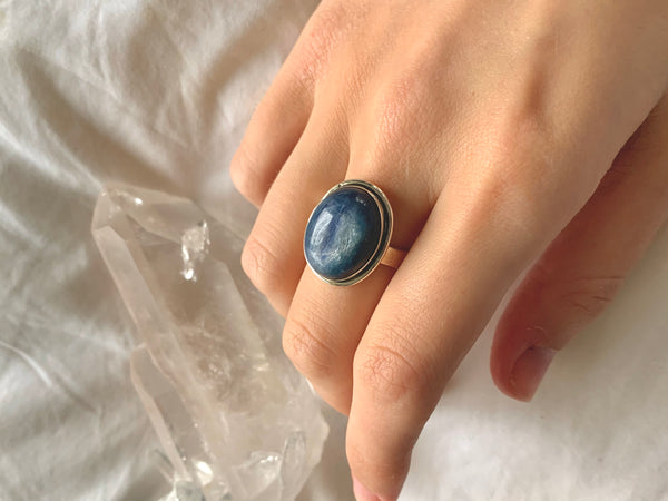 Kyanite Brea Ring - Oval