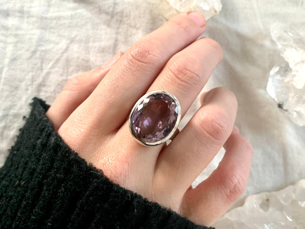 Ametrine Naevia Ring - Oval - Jewels & Gems