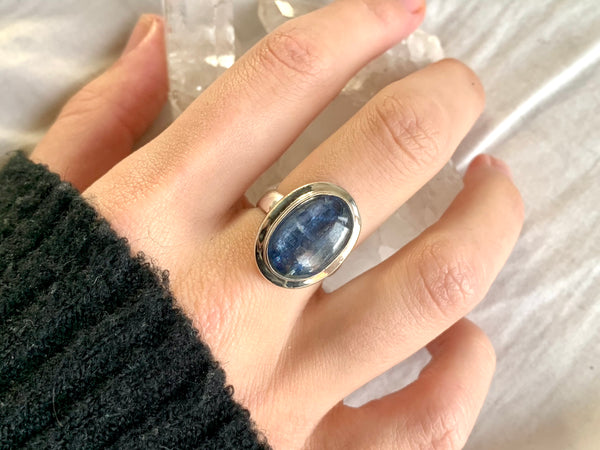 Kyanite Ansley Ring - US 6 - Jewels & Gems