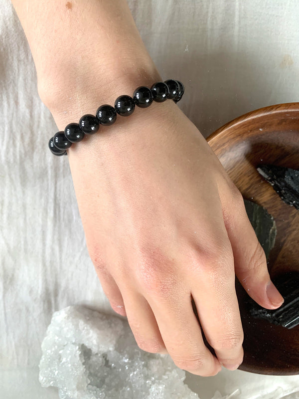 Black Tourmaline Bracelet - Jewels & Gems