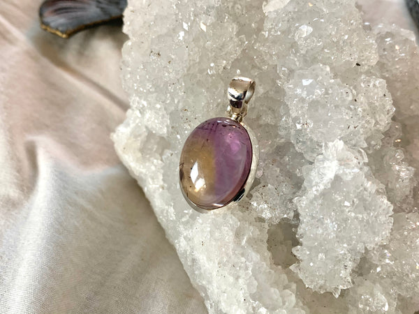 Ametrine Ariel Pendant - Medium Oval - Jewels & Gems