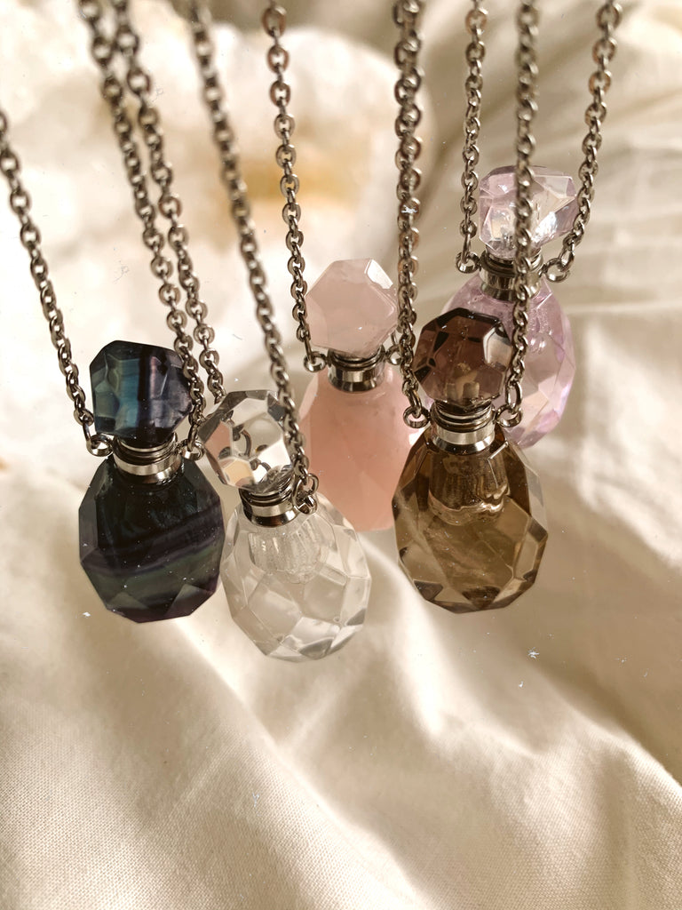 The Crystal Bottle Necklace (Limited Edition) - Jewels & Gems
