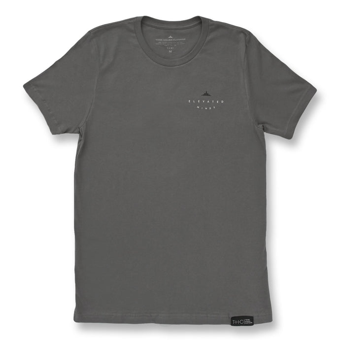Elevated Minds Tee Asphalt