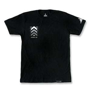 Level Up Tee Black