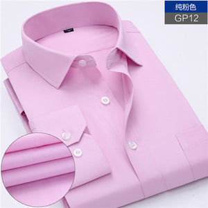 Long Sleeve Striped /Twill Men Dress Shirts