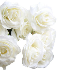 Artificial flowers roses wedding decoration table