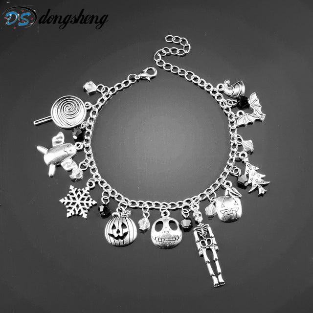 The Nightmare Before Christmas Charm Bracelet Halloween