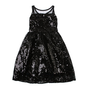 Toddler Baby Girl, Sequin Vest Girl Dress Baby Princess Dress