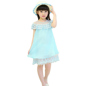 3-7y Girls Wedding Pearls Reine Dresses