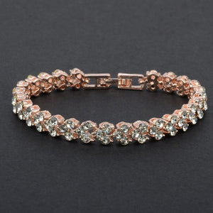 New Fashion Roman Style Woman Crystal Diamond Bracelets Gifts