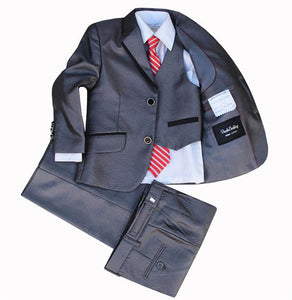 Toddler Boys Suits (Jackets+Vest+Pants+Tie+Cravat)