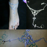 Barefoot Sandals Beach Foot Jewelry Wedding Ankle Chain Anklet