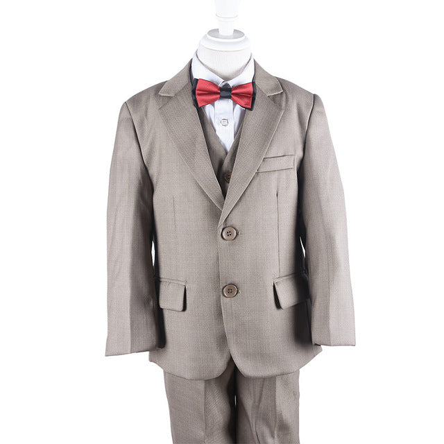 Infant Boys Khaki Suits