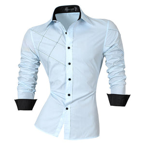 Slim Fit Brand Boutique Cotton Casual Dress Shirts