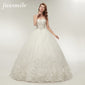 Fansmile High Quality  Lace Up Wedding Dress