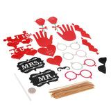 Photo Props Mask Set for Wedding Party Friends Gathering Couple Photos