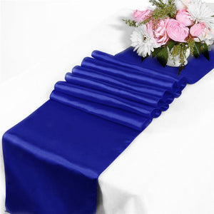 Satin Table Runner For Wedding Banquet Decoration