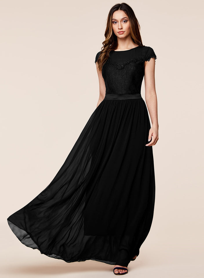 Fashion City Summer Party Chiffon Long Dress
