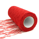 15cm 25Yards Lace Roll Tulle Roll Lace Tulle Fabric Table Runner Chair Sash