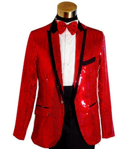 Boys Tailor 4 piece Suit Embroidered Sequins Costume